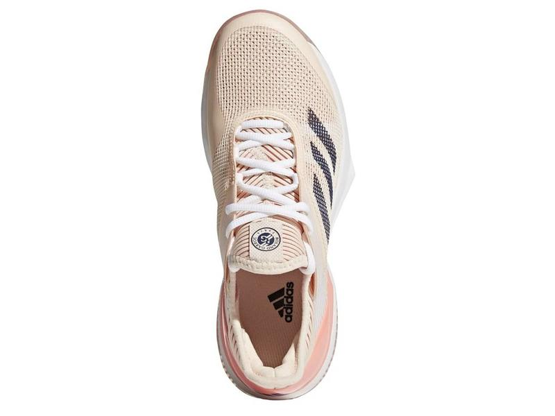 Adidas Adizero Ubersonic 3 Clay Coral/Indigo Women's Shoes