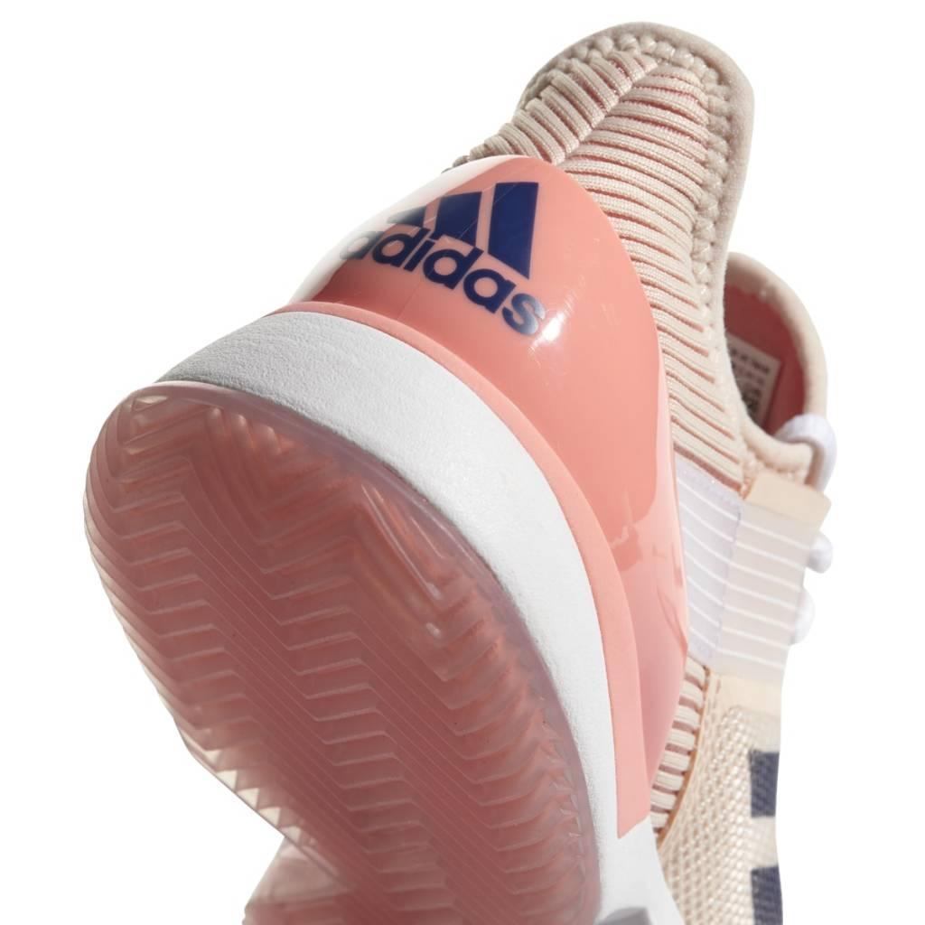 online retailer afff1 f7416 ... Adidas Adizero Ubersonic 3 Clay CoralIndigo Womens Shoes ...