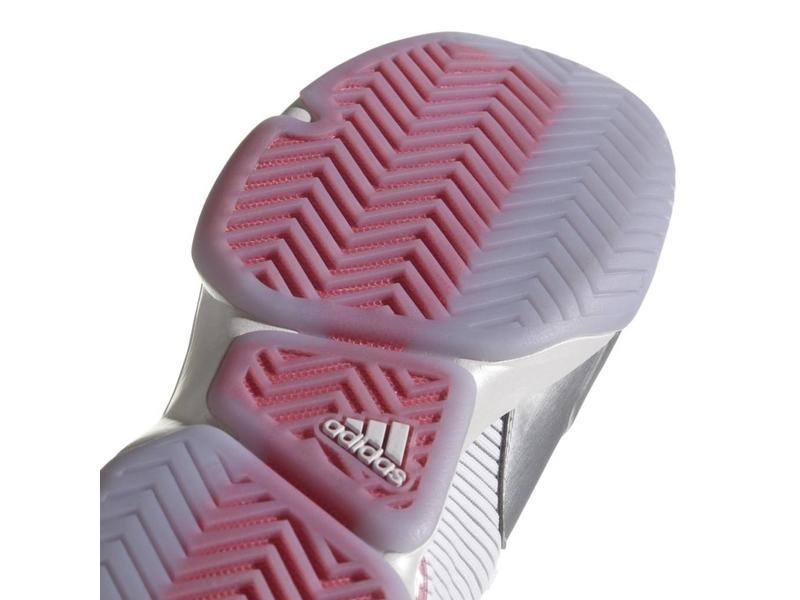 Adidas Adizero Ubersonic 2 LTD Men's Shoes Silver/White/Red/Pink