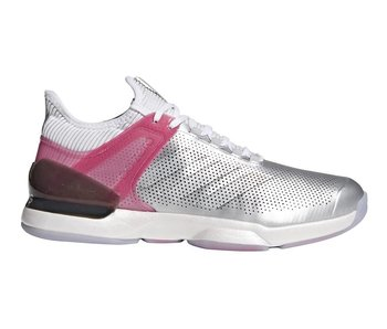 Adidas Adizero Ubersonic 2 LTD Men's Shoes Silver/White/Red/Pink