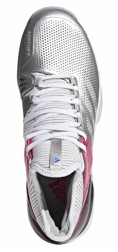 the best attitude 04fed ce84e ... Adidas Adizero Ubersonic 2 LTD Mens Shoes SilverWhiteRed ...