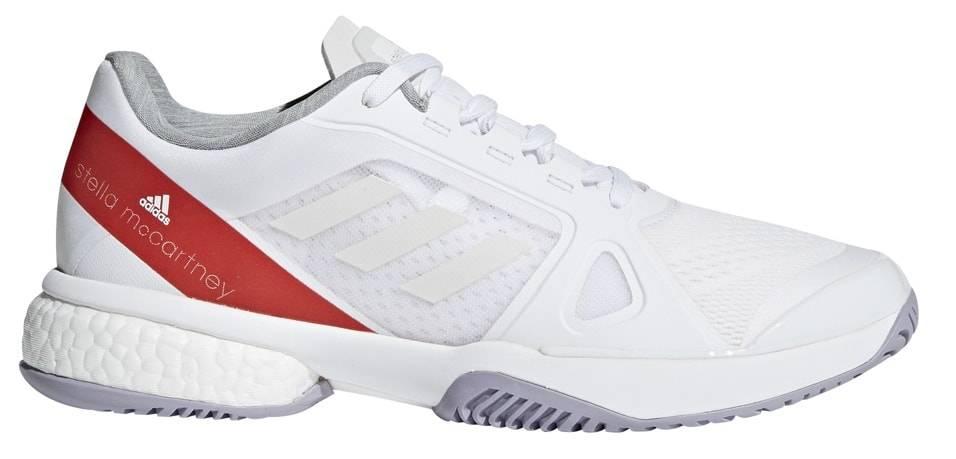 8ece131c698 Stella Barricade Boost White Red Women s Shoes - Tennis Topia - Best ...