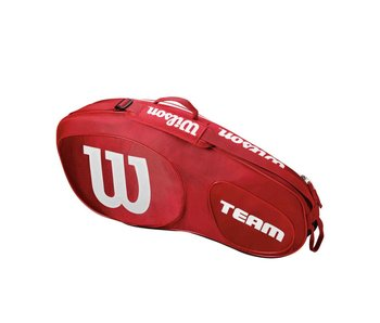 Wilson Team III Red/White 3 Pack Bag