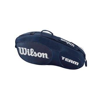 Wilson Team III Blue/White 3 Pack Bag