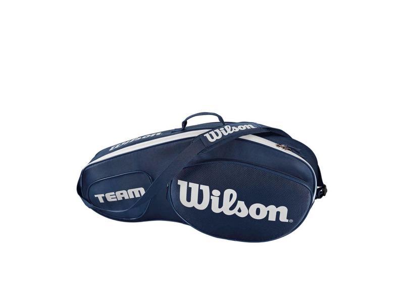 Wilson Team III Blue/White 3 Pack Bag