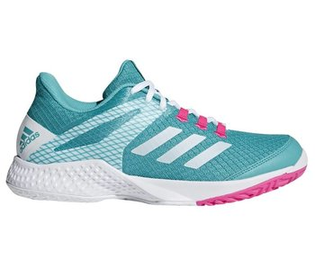 Adidas Adizero Club 2 Aqua/White/Pink Women's Shoe