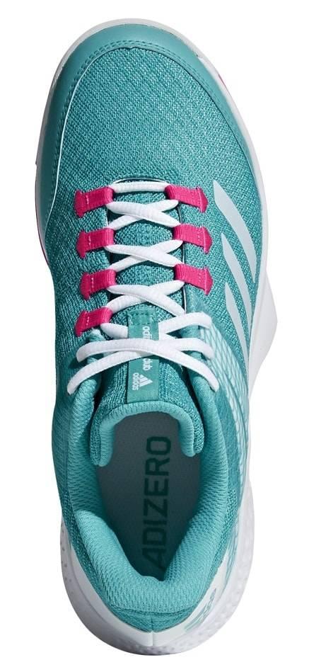 premium selection 8ea8f 8ba06 Adidas Adizero Club 2 AquaWhitePink Womens Shoe ...