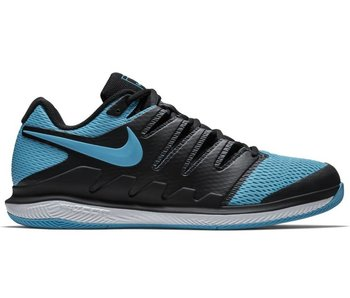 Nike Zoom Vapor X HC Black/Gamma Blue Men's Shoe
