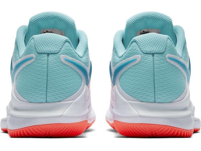 Nike Zoom Vapor X HC White/Blue/Red Women's Shoe