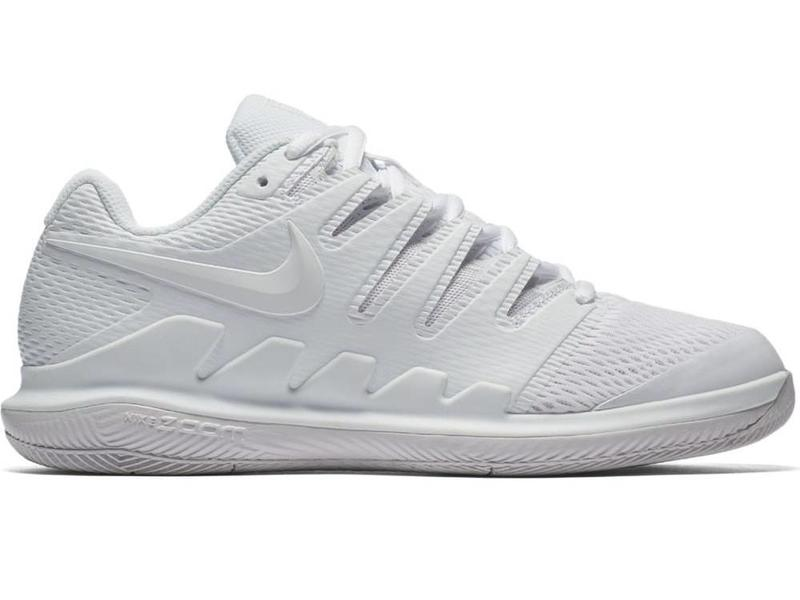 82f63eea65fb Women s Nike Air Zoom Vapor X White Vast Grey Shoe - Tennis Topia ...