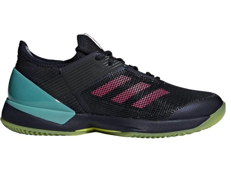 9605ea340 Adizero Ubersonic 3 Clay Pink Navy Women s Shoe - Tennis Topia ...