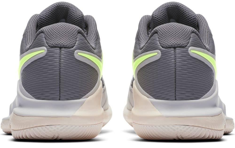 Zoom Vapor X Hc Grey Volt Women S Shoe Tennis Topia
