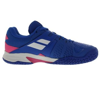 Babolat Propulse Fury Blue/Pink Jr Shoe
