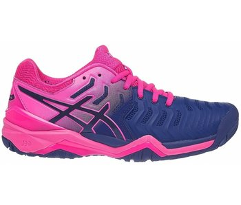 Asics L. Gel Resolution 7 Blue/Pink Women's Shoe