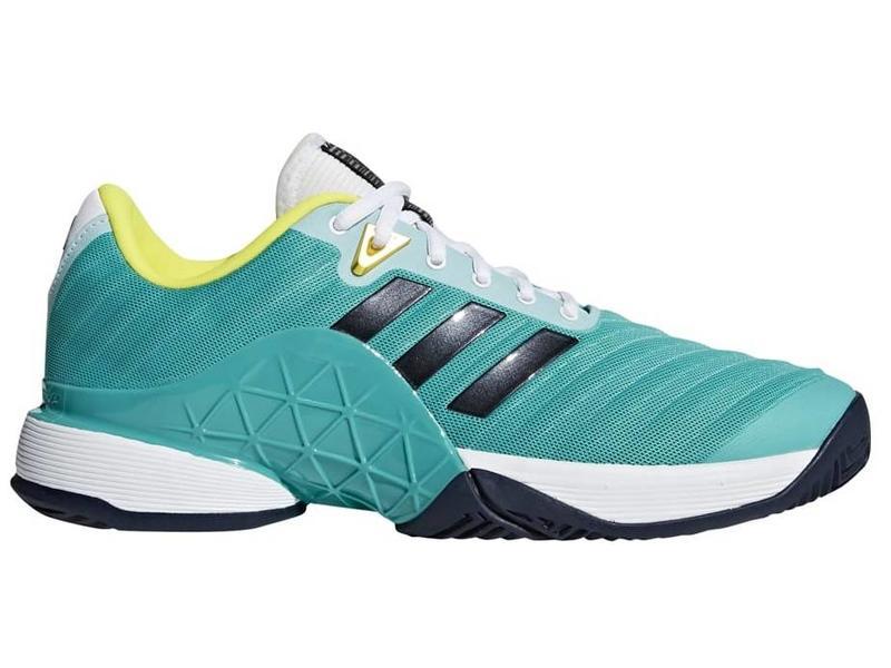 online store c6048 0b312 Adidas Barricade 2018 AquaInk Mens Shoe