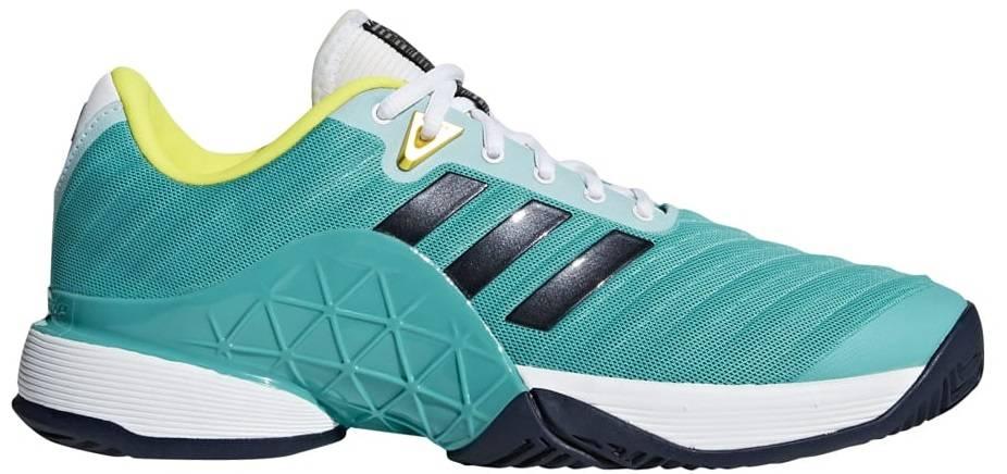 pretty nice f4278 8f47b ... Adidas Barricade 2018 AquaInk Mens Shoe