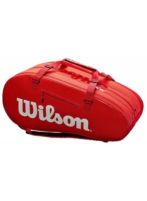 Wilson Super Tour 3 Compartment 15-Pack InfraRed Tennis Bag