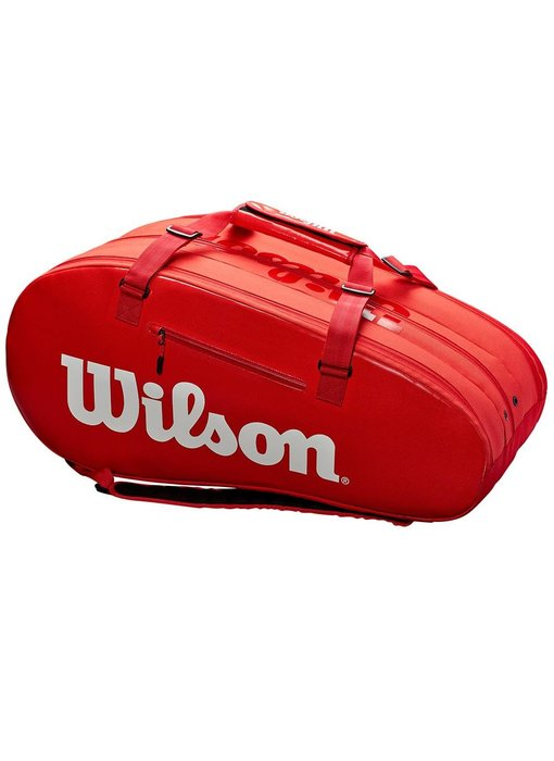 Wilson Super Tour 2 Compartment 9-Pack InfraRed Tennis Bag