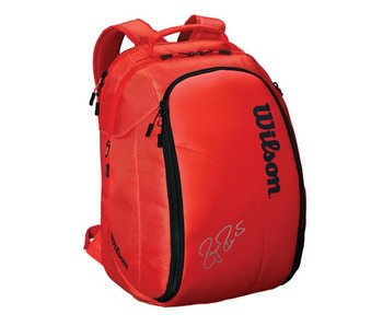 Wilson Federer DNA Tennis Backpack Red