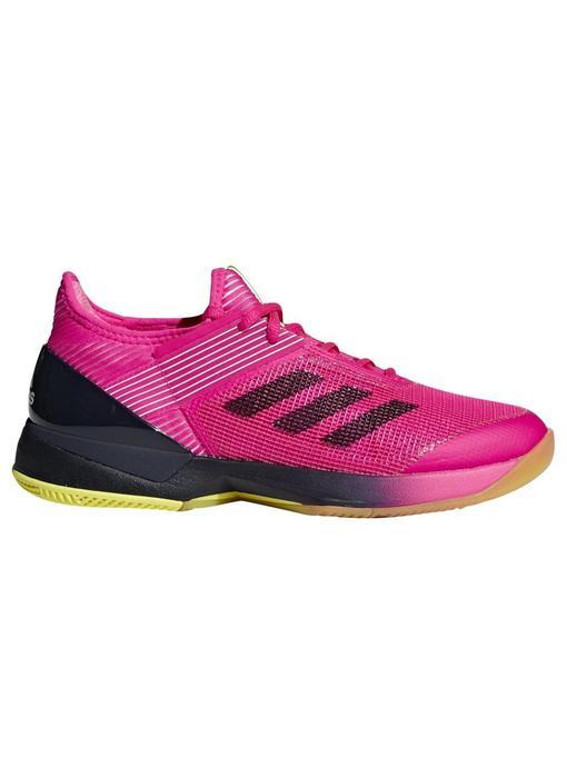 Adidas Adizero Ubersonic 3 Pink/Ink Women's Shoe