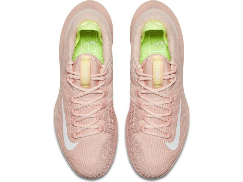 Nike Court Air Zoom Zero HC Women's  Pink Arctic Orange/Volt Glow