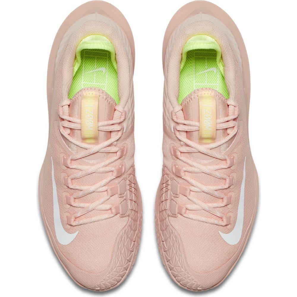 8fcd9c8648 ... Nike Court Air Zoom Zero HC Women's Pink Arctic Orange/Volt ...