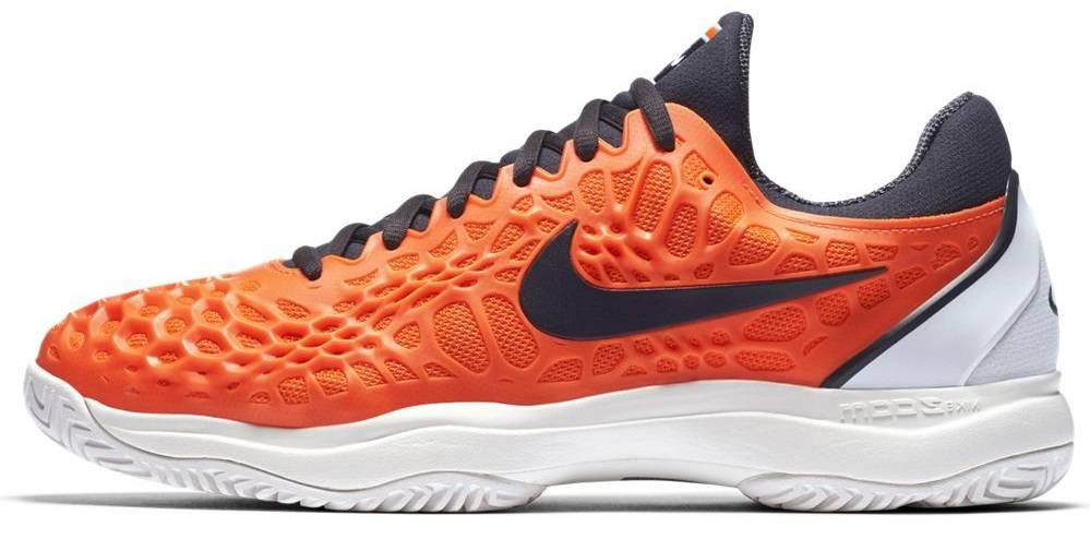 outlet store d3d67 c0d77 ... Nike Zoom Cage 3 HC Orange Blue White Men s Shoe ...