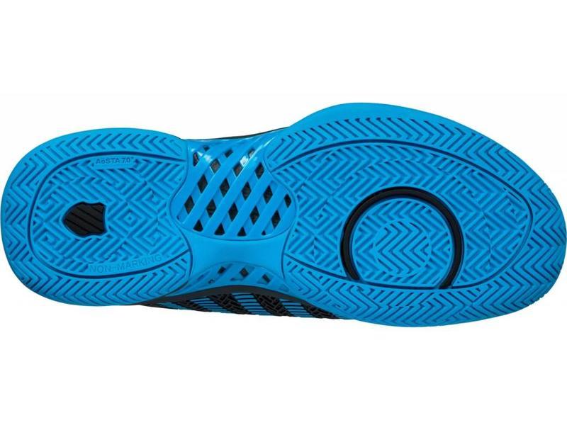 K-Swiss Hypercourt Express Grey/Blue Men's Shoe