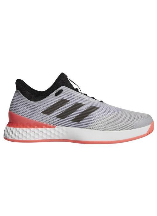 Adidas Adizero Ubersonic 3 Grey/Flash Red Men's Shoe
