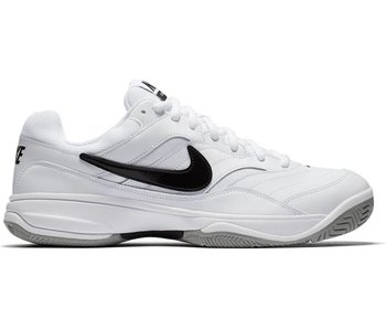Nike Court Lite WIDE  2E White/Black Men's Shoe