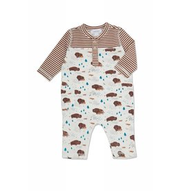 Angel Dear Bison Buffalo Romper