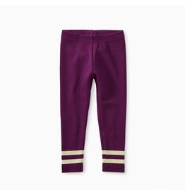 Tea Collection Sparkle Stripe Rib Leggings - Cosmic Berry