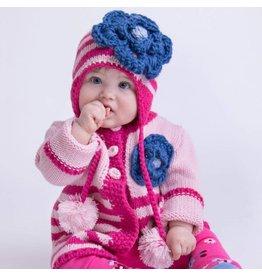 Huggalugs Kissy Pink Beanie