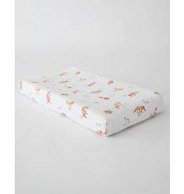 Little Unicorn Cotton Muslin Changing Pad Cover - Fox