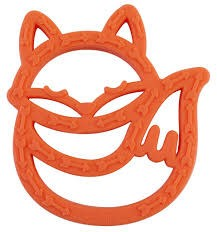 Itzy Ritzy Silicone Baby Teether, Fox Teether