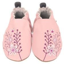 Robeez Blooming Floral Soft Soles - Light Pink - Kicks and Giggles a47950c40754