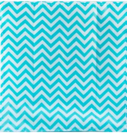 Baby Paper Baby Paper - Turquoise Zig Zag