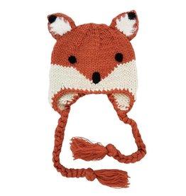 Huggalugs Fox Knit Beanie