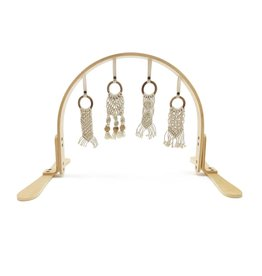 Macrame Play Gym - Natural