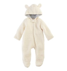 Mud Pie Sherpa Bear Bunting Suit 0-3 months