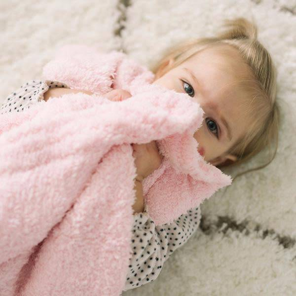 """Saranoni Receiving Blanket (30"""" x 40"""") Light Pink Bamboni"""