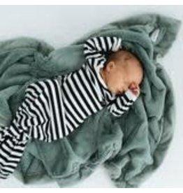 """Saranoni Receiving Blanket (30"""" x 40"""") Eucalyptus Lush"""