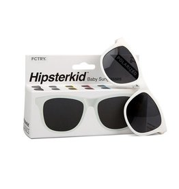 FCTRY Polarized Baby Sunglasses, White 3-6y