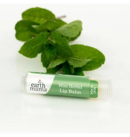 Earth Mama Organics Mint Herbal Lip Balm