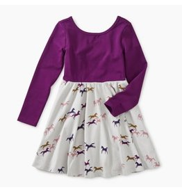 Tea Collection Ballet Skirted Dress - Wild Horses 4