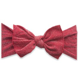 Baby Bling Bows Shimmer Knot (Red)