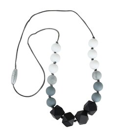 Itzy Ritzy Petite Strand Necklace - Smokey Snow