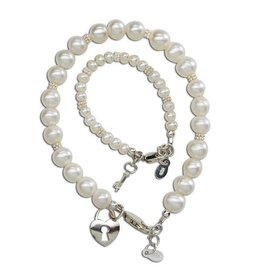 Cherished Moments Mom & Me (Key to your Heart Set) - Pearl (SM)