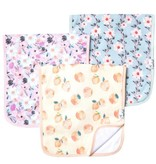 Copper Pearl Burp Cloths (3 pack) - Morgan