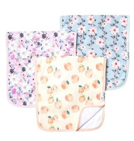 Copper Pearl Burp Cloths - Morgan